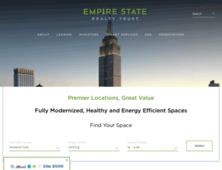 empirestaterealtytrust.com screenshot