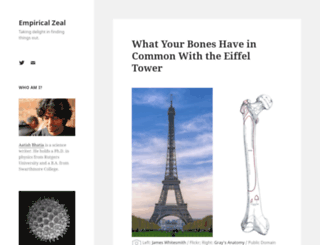 empiricalzeal.com screenshot