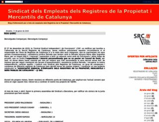 empleatsderegistresdecatalunya.blogspot.com.es screenshot