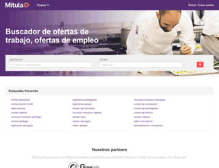 empleo.mitula.cl screenshot