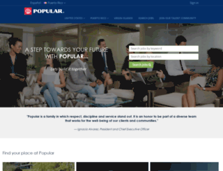 empleos.popular.com screenshot