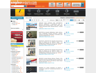 empleoseguro.com screenshot