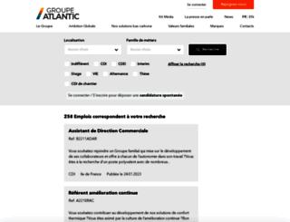 emploi-job-atlantic.com screenshot