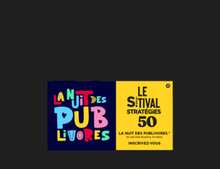 emploi.strategies.fr screenshot