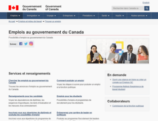 emplois-jobs.gc.ca screenshot