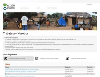 employ.acf-e.org screenshot