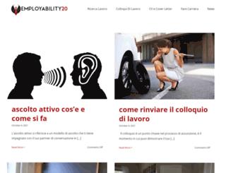 employability20.it screenshot
