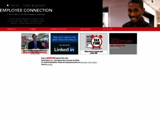 employeeconnection.net screenshot