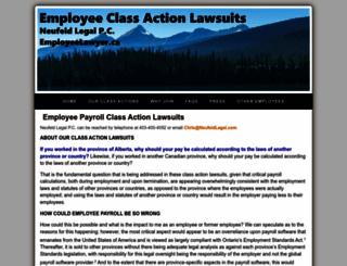 employeelawyer.ca screenshot