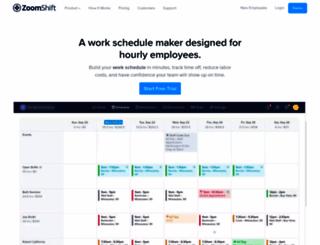 employees.zoomshift.com screenshot