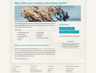 employer.careerrookie.com screenshot