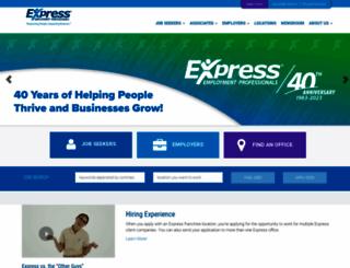 employers.expresspros.com screenshot