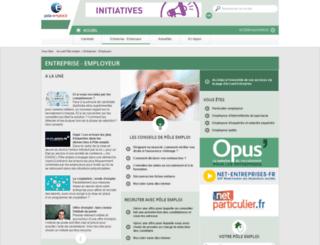 employeur.assedic.fr screenshot