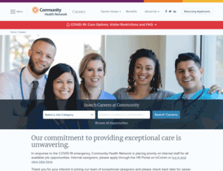 employment.ecommunity.com screenshot