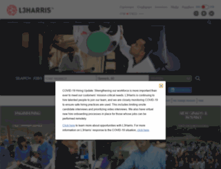 employment.harris.com screenshot