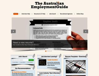 employmentguide.com.au screenshot