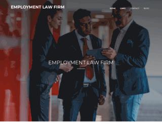 employmentlawfirmca.com screenshot