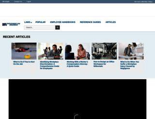 employmentlawhandbook.com screenshot