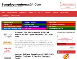 employmentnewsi.com screenshot
