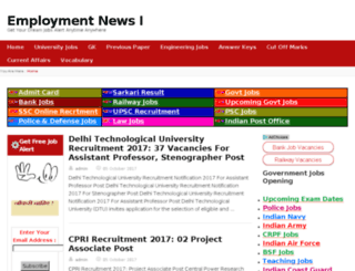 employmentnewss24.com screenshot