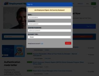 employmentnigeria.com screenshot