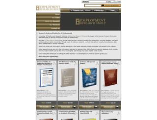 employmentresearchgroup.com screenshot