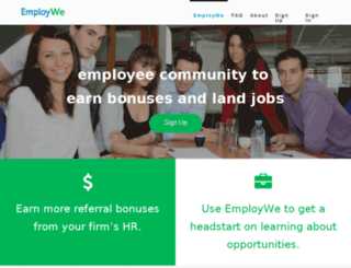 employwe.com screenshot