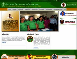 empmissionodisha.gov.in screenshot