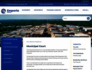 emporia-kansas.gov screenshot