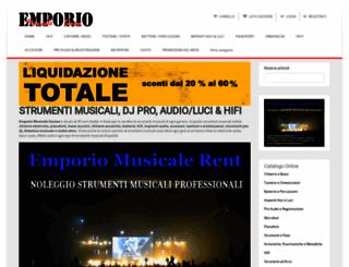 emporiomusicale.it screenshot
