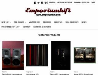 emporiumhifi.com screenshot
