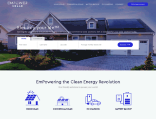empower-solar.com screenshot