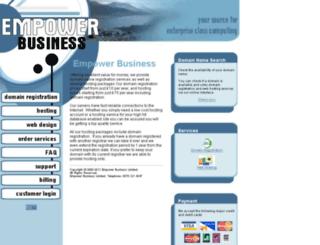 empowerbusiness.com screenshot