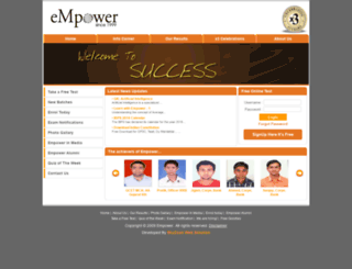 empowercareer.com screenshot
