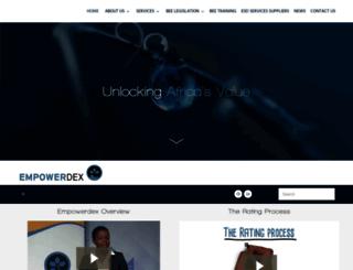 empowerdex.com screenshot