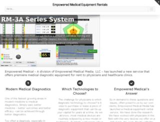 empoweredmedical.com screenshot