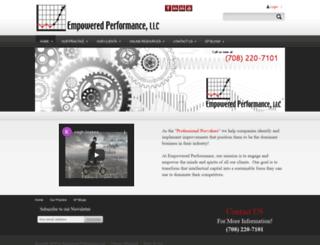 empoweredperformance.com screenshot