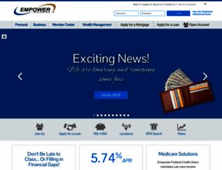 empowerfcu.com screenshot