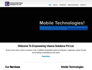 empoweringvisions.com screenshot
