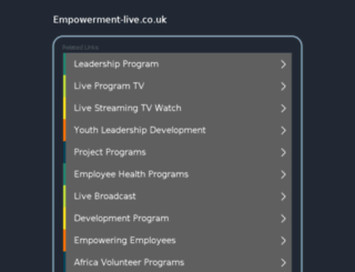 empowerment-live.co.uk screenshot