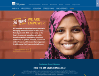 empowerweb.org screenshot