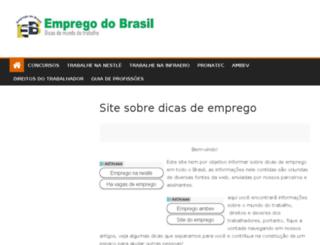 empregodobrasil.com.br screenshot