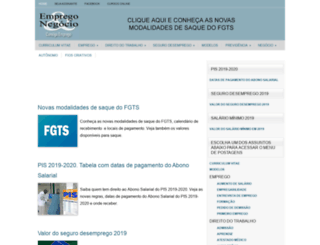 empregoenegocio.com.br screenshot