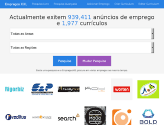 empregosxxl.com screenshot