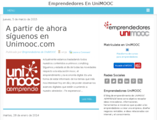 emprendedoresunimooc.blogspot.mx screenshot