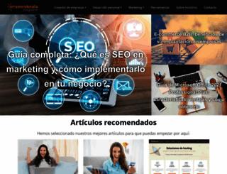 emprenderalia.com screenshot