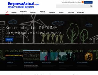 empresaactual.com screenshot