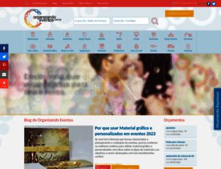 empresarial.organizandoeventos.com.br screenshot