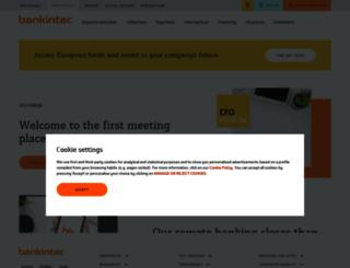 empresas.bankinter.com screenshot