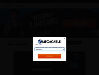 empresas.megacable.com.mx screenshot